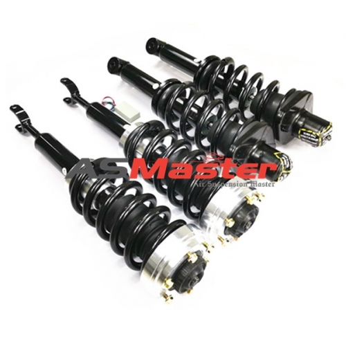 1 Set  Coil Spring Conversion Kit with bypass for Audi A6 C5 4B Allroad Quattro 1999-2006 4Z7413031A 4Z7616051A 4Z7616052A